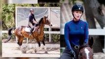 Iggy Azalea Rides Away Her Stress On Her New Stallions