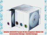 Atlantic 96635495 Parade 96 Disc Organizer (White) (Cd Accessories/Storage / Cd/Dvd Storage)