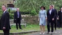 I ministri a Downing Street per il Cameron II