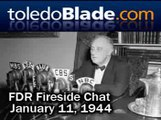 FDR Fireside Chat - Bill of Rights