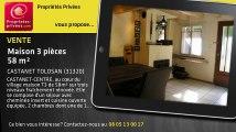 A vendre - maison - CASTANET TOLOSAN (31320) - 3 pièces - 58m²