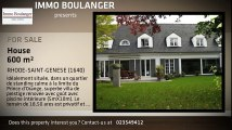 For Sale - House - RHODE-SAINT-GENESE (1640) - 600m²
