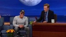 """Jean-Claude Van Damme Recreates His """"Kickboxer"""" Dance Scene - CONAN on TBS ( HD )"""