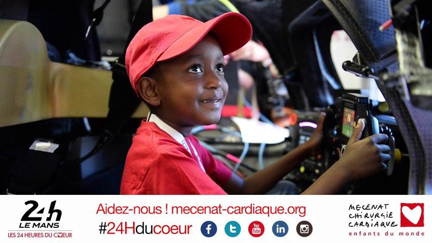 24 Heures du Mans 2015 - Clip officiel Mécénat Chirurgie Cardiaque