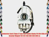Carburetor Carb 27mm 27 mm PZ27 Cable Choke Pit Dirt Bike ATV Scooter Moped 110 125 150 200