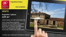 A vendre - propriété - SAINT DENIS LA CHEVASSE (85170) - 7 pièces - 229m²