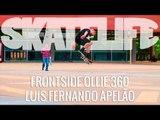 Frontside Ollie 360 | Tutorial #SKATELIFE | Luis Apelão