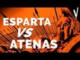 ATENAS x ESPARTA | Grécia Antiga