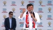 Uşak - Başbakan Davutoğlu Uşak Mitinginde Konuştu 5