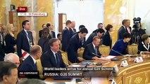 G20 : Ambiance et discours inaugural de Vladimir Poutine au Sommet 2013 - VERSION INTEGRALE