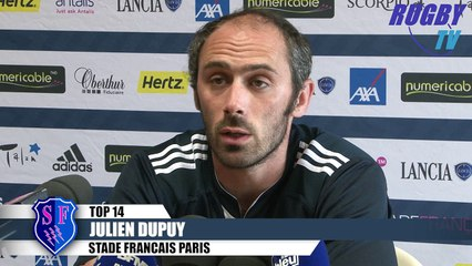 TOP 14 avant match Stade Français-Montpellier