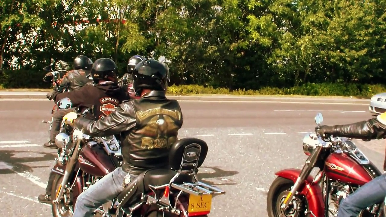 100 Harley Davidsons