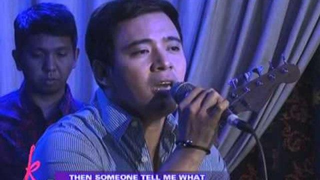 Erik Santos sings 'If I Believe' on KrisTV