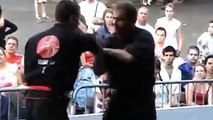 Kung fu demontration (Team arts martiaux Patenaude) at La Ronde de Montreal