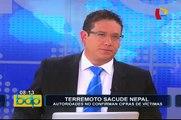 Nuevo terremoto de 7.4 grados de magnitud remece Nepal