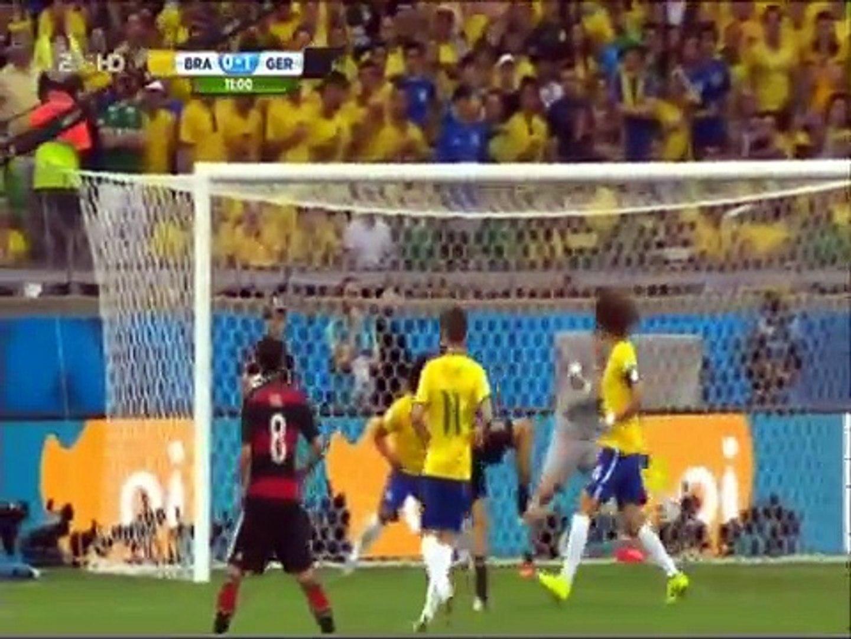 Wm 2014 Halbfinale Deutschland Brasilien 7 1 German Tv