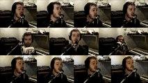 Radiohead No Surprises Acapella (One Man Choir) - Jaron Davis