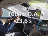 1000 m départ arrêté en Tesla Model S P85D