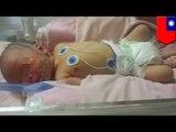Child abandonment: Newborn baby boy left beneath parked car in tote bag in rain storm - TomoNews