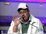 Willie Nepomuceno as Dolphy says hi to Karylle