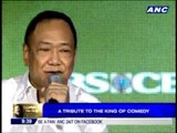 Basil sings 'Lift Up Your Hands' at Dolphy tribute