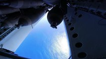 """US Biggest Bomber """"Atomizes"""" an Island With 45 Bombs: B-52H Carpet Bombing With M117 Bombs"""