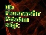 Alarmfahrt -  Löschzug Feuerwehr Potsdam