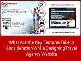 Travel Agency Website Designing, Travel Portal Design & Development - Axis Softech