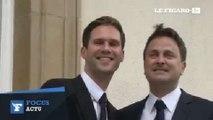 Le premier ministre luxembourgeois a épousé son compagnon