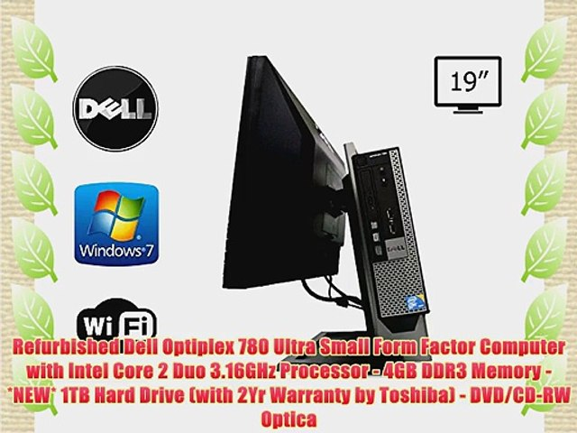 Dell Optiplex 780 USFF All-in-One Computer System Intel Core 2 Duo 3 16GHz  4GB DDR3 Memory