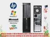 HP Elite 8000 Desktop - Core 2 Duo 2.93GHz - 1TB 7200RPM HDD - 4GB RAM - WIFI - DUAL Video