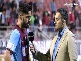 Ολ. Βόλου-ΑΕΛ 0-1  Πινδώνης οπαδοί της ΑΕΛ 2014-15