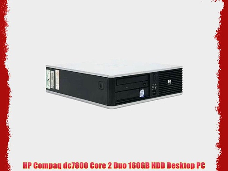 HP Compaq dc7800 Core 2 Duo 160GB HDD Desktop PC
