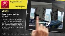 A vendre - appartement - LA BAULE ESCOUBLAC (44500) - 3 pièces - 73m²