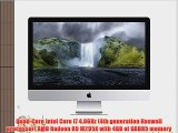 Apple iMac 27 Desktop with Retina 5K display - 4.0GHz Intelquad-core Intel Core i7 256GB Flash