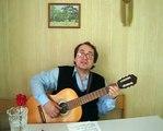ВладимирМК - ВЕЧЕРНЯЯ ЗАСТОЛЬНАЯ (А. Розенбаум) (Чёрт с ними! За столом сидим, поём...)