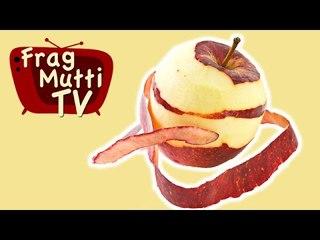 Äpfel schnell schälen und reiben - Frag Mutti TV
