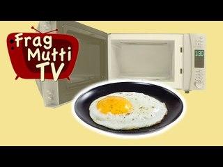 Spiegelei, Rührei und Eierstich aus der Mikrowelle - Frag Mutti TV