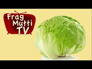 Eisbergsalat schnell zubereiten - Frag Mutti TV
