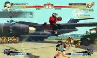 Batalla de Ultra Street Fighter IV Sakura vs Gen