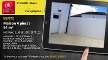 A vendre - maison - MORNAC SUR SEUDRE (17113) - 4 pièces - 94m²
