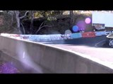 Afternoon Crash session Downhill Skate Newtons Nation 2013