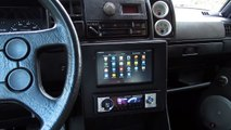 VW Golf 2 LED Sound System Focal Ps165 Sound Test