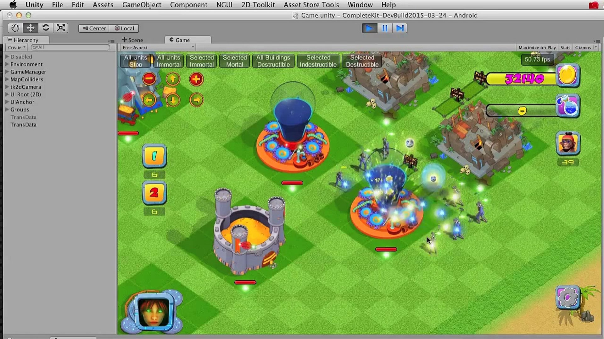 Unity Enemy AI Attack Script for City Builder Games or Unity Tower Defense