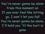 Never gonna be alone with lyrics Nickleback