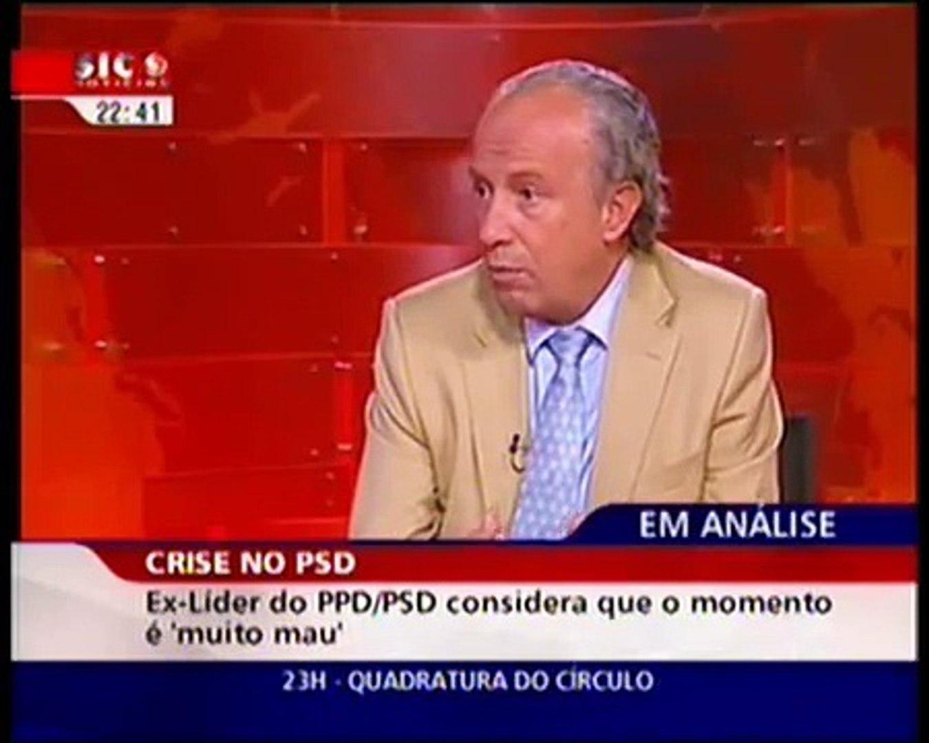 Santana Lopes abandona entrevista