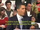 Discurso de Obama en New Hampshire: el inicio del Yes we can (subtitulos español)