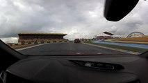 Essai Ford Focus ST - Tour du grand circuit des 24h du Mans - Le Mans Classic