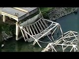 Interstate 5 bridge collapse in Washington state possibly caused by over-height truck