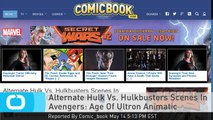 Alternate Hulk Vs. Hulkbusters Scenes In Avengers: Age Of Ultron Animatic